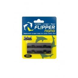 Flipper Nano RVS mesjes 2 st